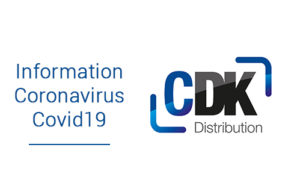 Dispositions prises par CDK Distribution suite au Coronavirus